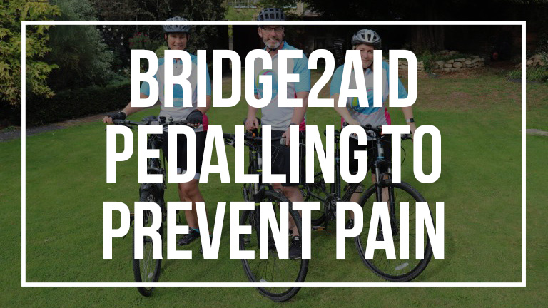 Bridge2Aid Cycling Poster 16x9